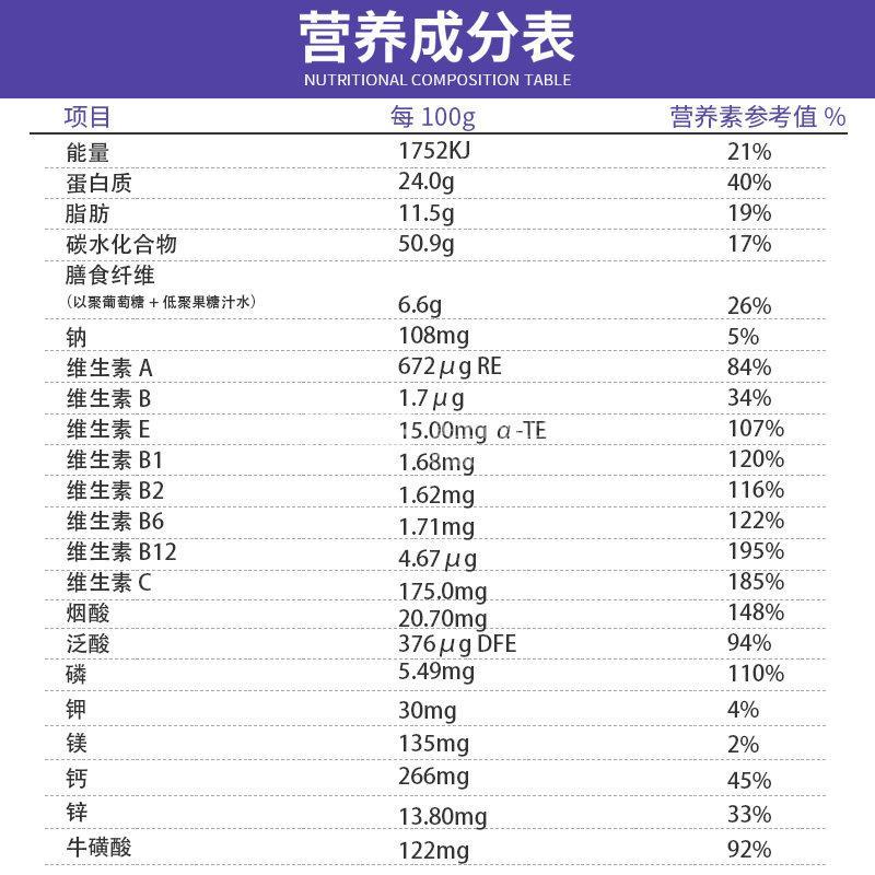 冬泽能 优渗蛋白营养强化复合粉  20g*12袋