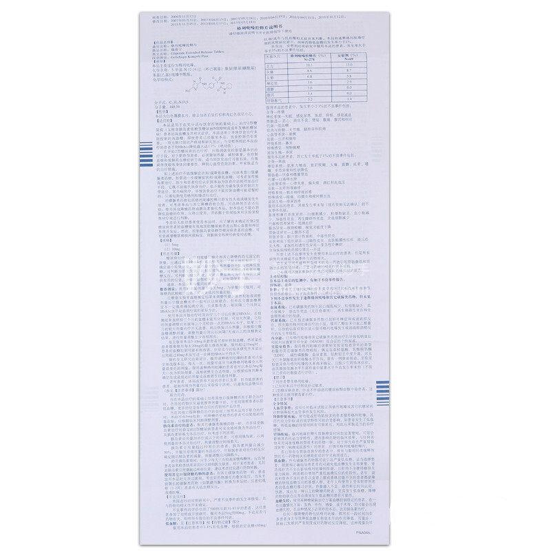 【瑞易宁】格列吡嗪控释片 5mg*7s*2板
