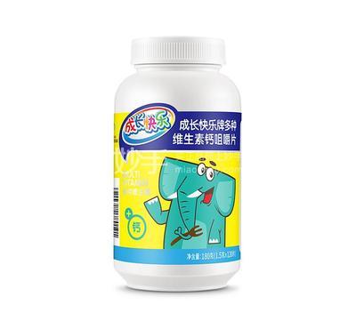 成长快乐 成长快乐牌多种维生素钙咀嚼片 180克(1.5g*120片)