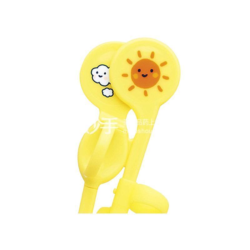 贝亲 婴幼儿专用训练筷(左手黄色)