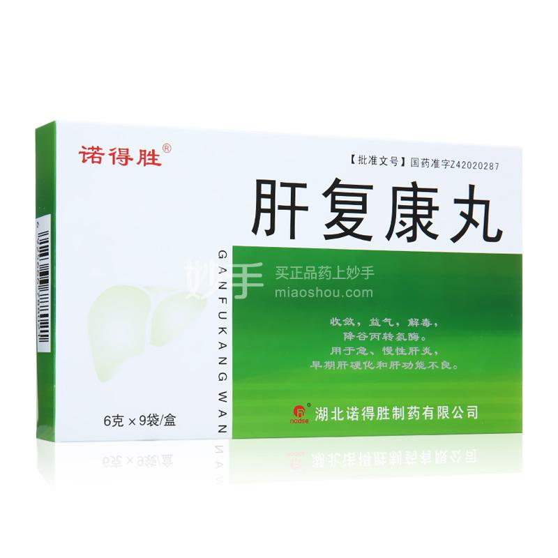 【诺得胜】肝复康丸 6g*9袋